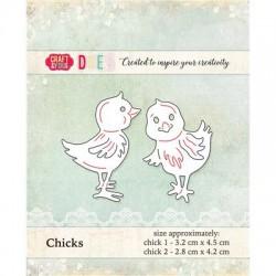 Kurczaczki 2 szt. wykrojnik Craft&You