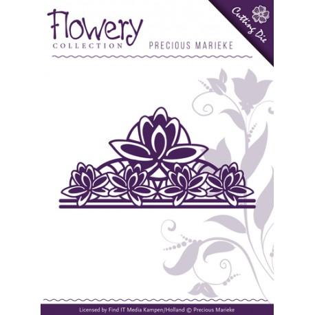 Wykrojnik Precious Marieke - Flowery Ornament