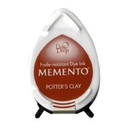 Memento Dew Drops CEGLASTY tusz wodny Potter`s Clay