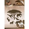 Wild Animals wykrojniki 7szt.  Amy Design
