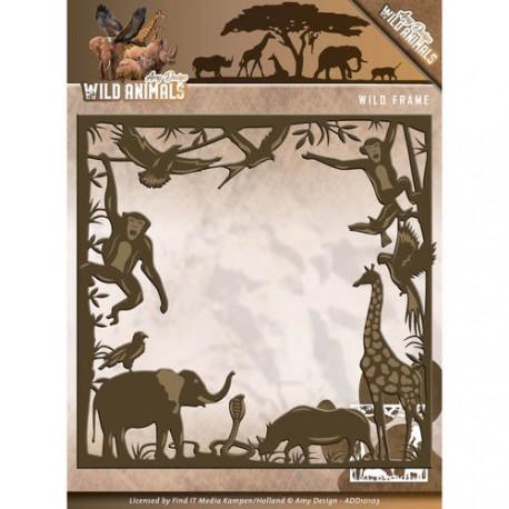 Wild Animals ramka wykrojnik  Amy Design