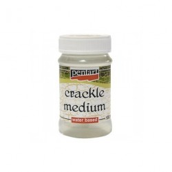 Crackle medium 100ml lakier do spękań 1-składnikowy