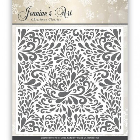 Yvonne Creations folder do embossingu  Magical winter