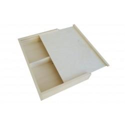 Drewniane pudełko na zdjecia 10x15cm
