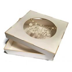 Pudełko 15x15cm z beermaty dziecięce