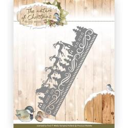 Christmas border wykrojnik brzegowy  Precious Marieke