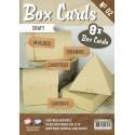 Box Cards zestaw 8szt. bazy do pudełek CRAFT