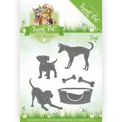 Wykrojnik Amy Design - Animal Medley - Cats and Dogs