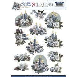 Christmas Bells  ozdoby 3D, arkusz A4