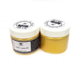 Farba/pasta 3D 50ml metal złoto - SeeArt