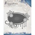 Snowflake Swirl  wykrojnik ramka Amy Design