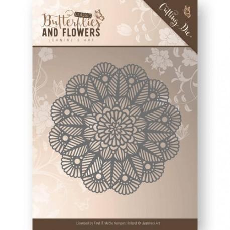 Butterflies and Flowers  wykrojniki motylki 3szt  Jeanines Art