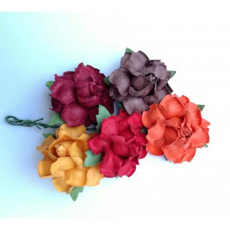 kwiatki 3cm zestaw 5 szt.