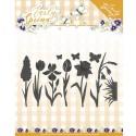 Early Spring kwiatki motylki wykrojniki 8 szt Precious Marieke