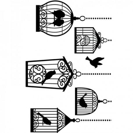 Birdcases folder do embossingu