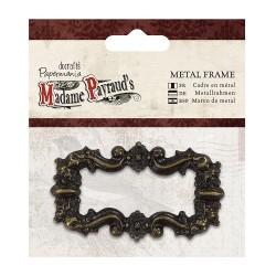 Madame Payraud's metalowa ramka 8x4 cm