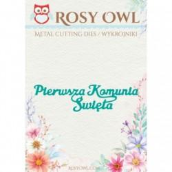 Napisy świąteczne 8 szt. wykrojniki Rosy Owl