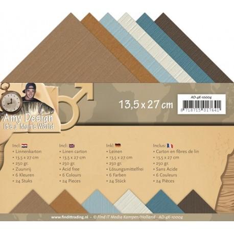 Bazy do kartek kwadratowych 13,5x13,5cm  ze strukturą płótna