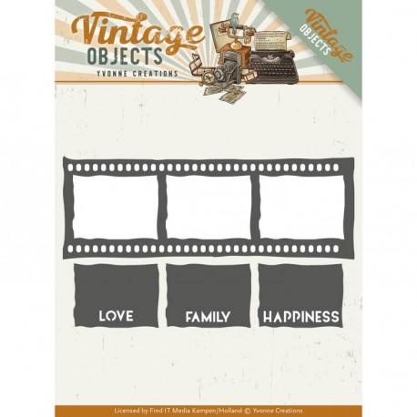 Vintage Objects klisza zdjęcia  wykrojnik Yvonne Creations