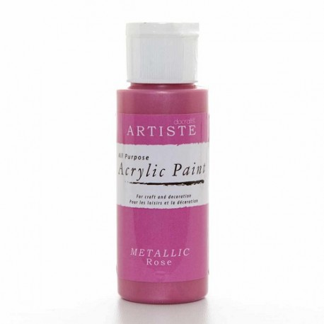 Farba akrylowa Metallic Ametyst 60 ml Artiste