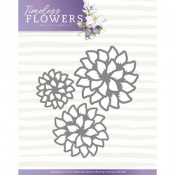 Timeless Flowers wykrojnik brzegowy border Precious Marieke