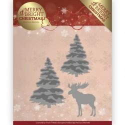 Merry and Bright Christmas wykrojniki gałązki Precious Marieke