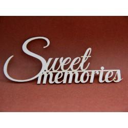 Napis Sweet Memories