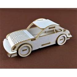 Samochód 3D tekturka
