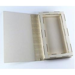 Kartka/książka DL baza z beermaty 14x24cm