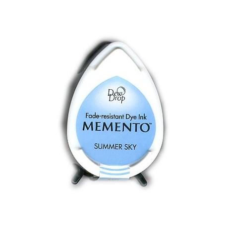Memento Dew Drops tusz wodny Bahama blue