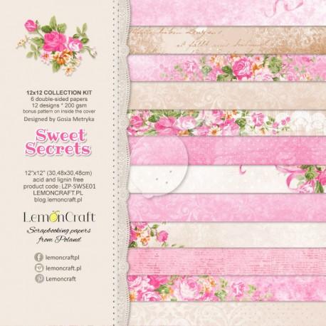 Lullaby ZESTAW 6 szt. 30,5x30,5 cm LEMONCRAFT