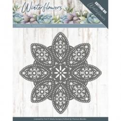 Winter Flowers wykrojnik ramka 11,5 cm Precious Marieke