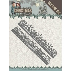 Christmas Wishes wykrojniki tagi 2 szt Amy Design