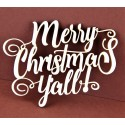 Tekturka MERRY CHRISTMAS
