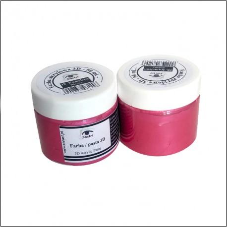 Farba/pasta 3D 50ml metal czerwony-14 SeeArt