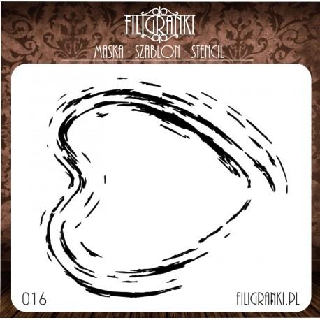 Szablon/maska PĘTELKI  Filigranki nr 15
