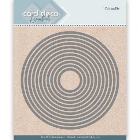 Card Deco wykrojniki koła 11 szt