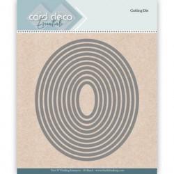 Ramki kwadraty 11 szt  wykrojniki  Card Deco
