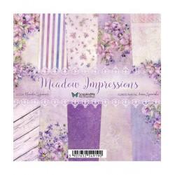 Meadow Impressions Mały Bloczek Papierów 15x15cm