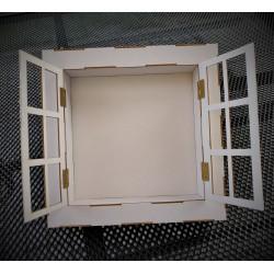 Shadowbox ramka 3D KWADRAT 20 x 20 cm
