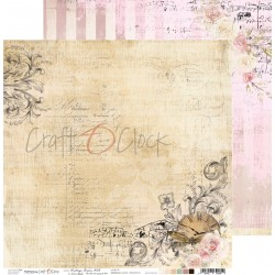 VINTAGE BISOU 06 dwustronny papier 30,5x30,5cm