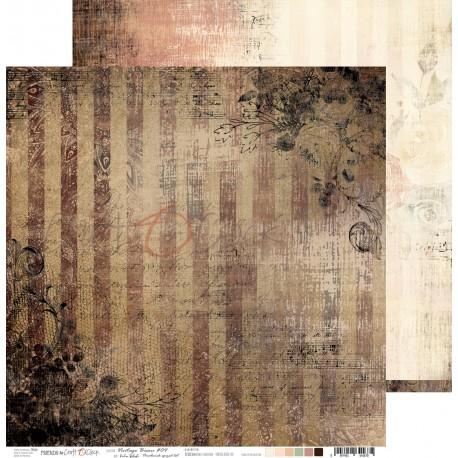 VINTAGE BISOU 04 dwustronny papier 30,5x30,5cm