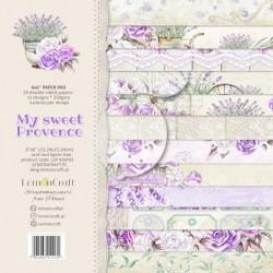 My sweet Provence zestaw 24 ark 15x15 LEMONCRAFT