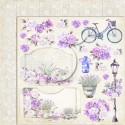 My sweet Provence 03 Papier dwustronny 30,5x30,5 LEMONCRAFT