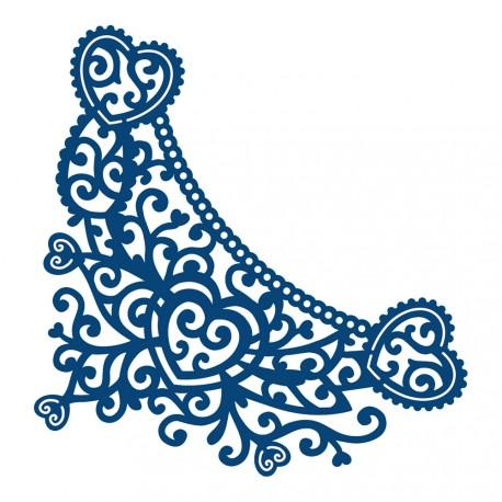 Decorative Cartouche zestaw wykrojników Tattered