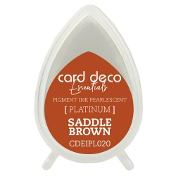 Card Deco Essentials Perłowy TUSZ Saddle Brown