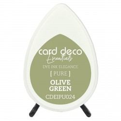 Card Deco Essentials TUSZ Olive Green