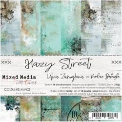 HAZY STREET - ZESTAW PAPIERÓW 15,25X15,25CM