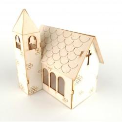 Kościół 3D z tektury
