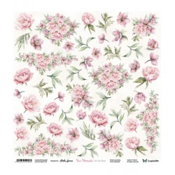 Nice Moments Flowers - Arkusz Do Wycinania